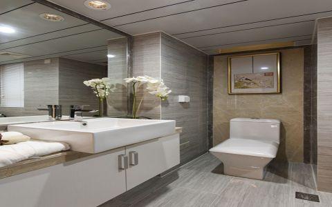 卫生间细节中式风格装饰效果图