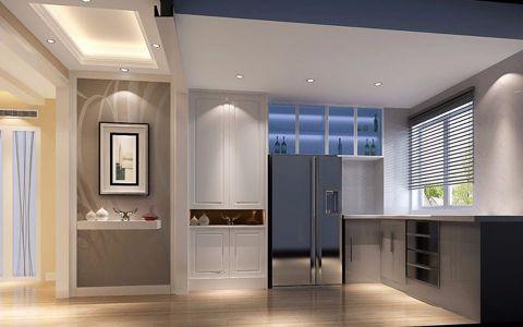 厨房窗台现代简约风格装修设计图片