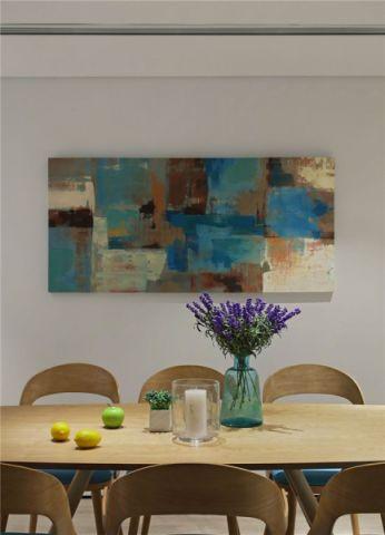 餐厅照片墙简单风格装潢效果图