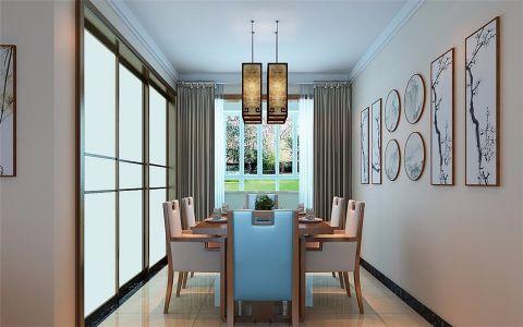 厨房推拉门新中式风格装饰效果图