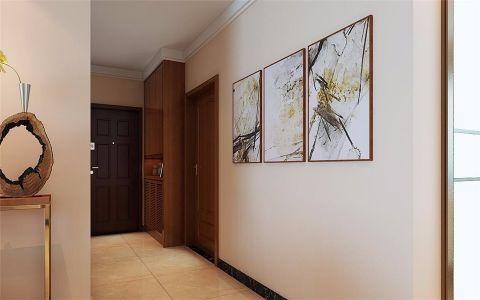 玄关门厅新中式风格装饰图片
