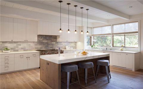 厨房橱柜乡村风格装修图片