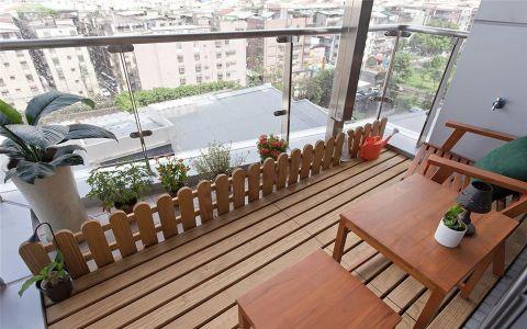 阳台细节欧式风格装潢图片