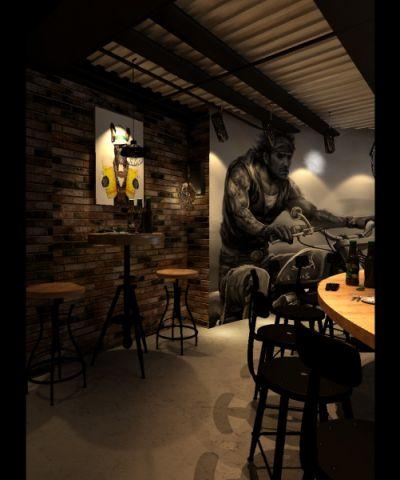 方庄600平米啤酒吧装修效果图