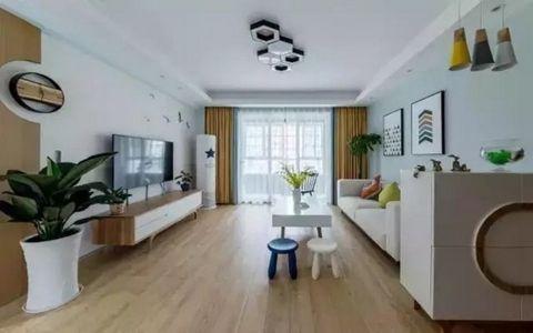 景祥佳园107平北欧风格三居室装修效果图