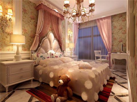 儿童房窗帘欧式风格装潢效果图