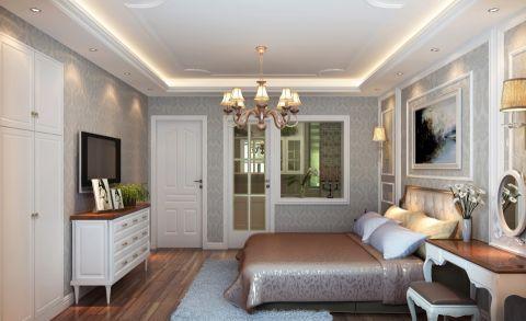 卧室细节简欧风格装饰图片