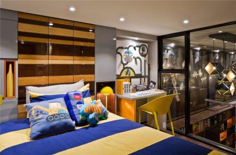 卧室门厅现代简约风格装潢设计图片