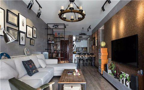 海尔公馆112平混搭风格三居室装修效果图