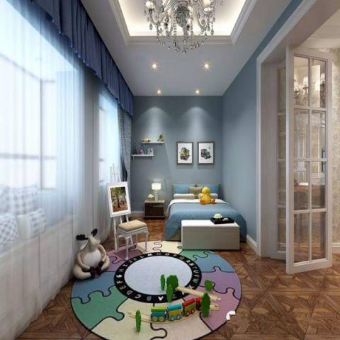 儿童房吊顶新古典风格装修图片
