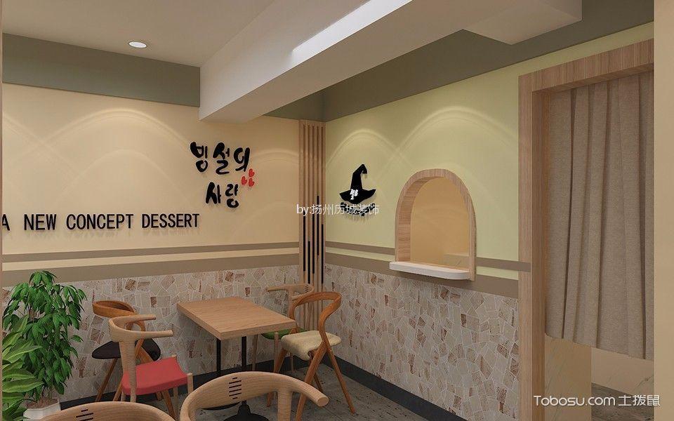 雪恋国庆路饮品店休息区背景墙装修图片