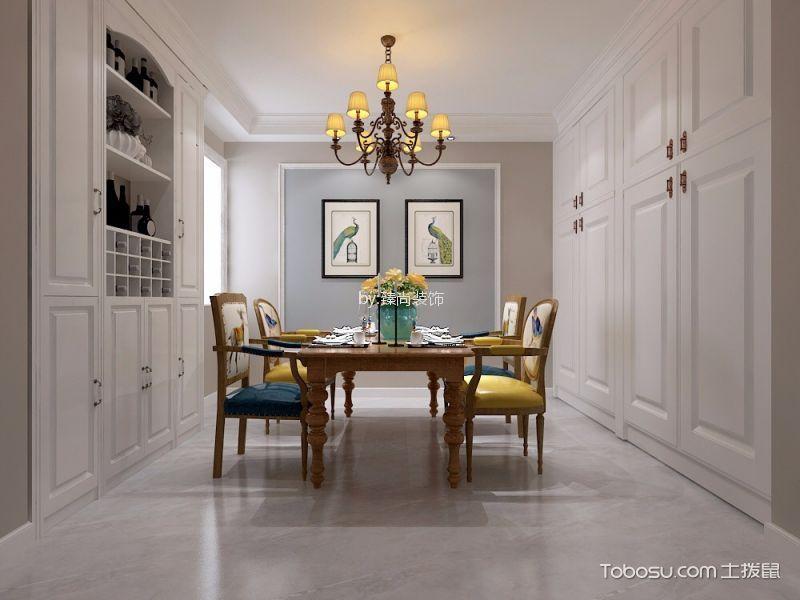 厨房白色细节美式风格装修效果图