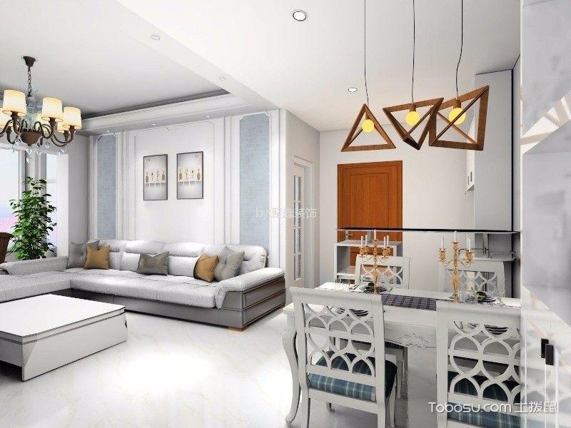 两室一厅现代简约风格