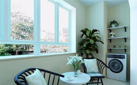 阳台窗台现代简约风格装修设计图片