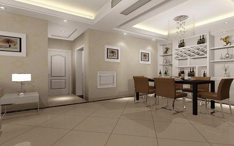 餐厅走廊简约风格装修设计图片