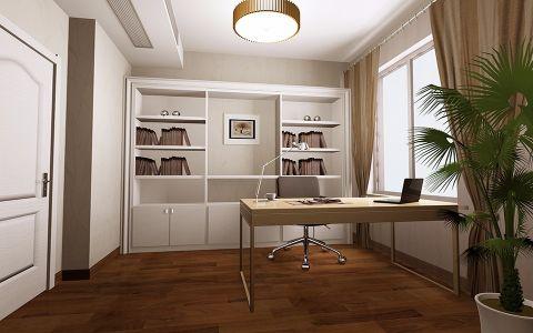 书房细节简约风格装潢设计图片