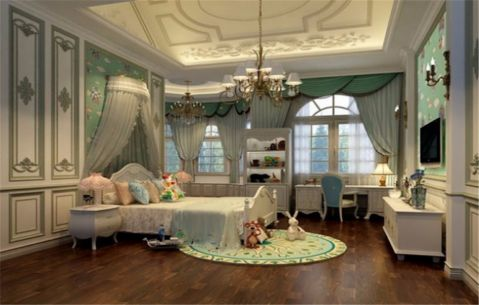 卧室细节法式风格装修效果图