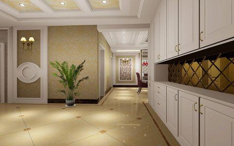 玄关走廊简欧风格装潢效果图