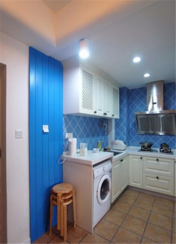 厨房吊顶地中海风格装饰设计图片