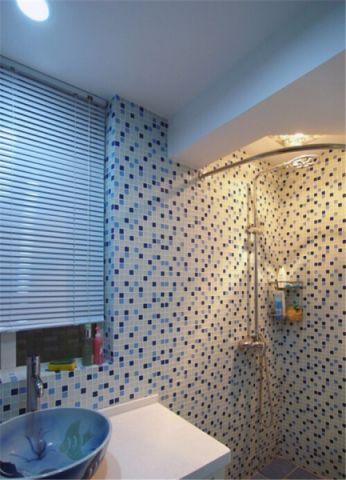 卫生间背景墙地中海风格效果图