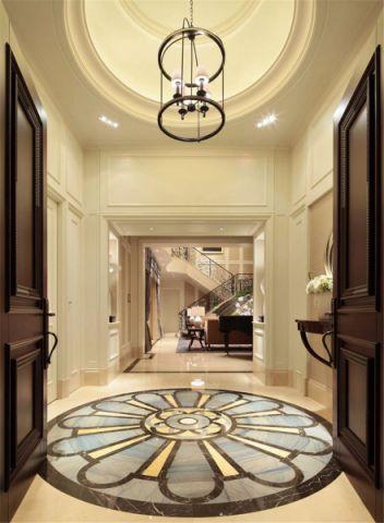 玄关吊顶简欧风格装修设计图片