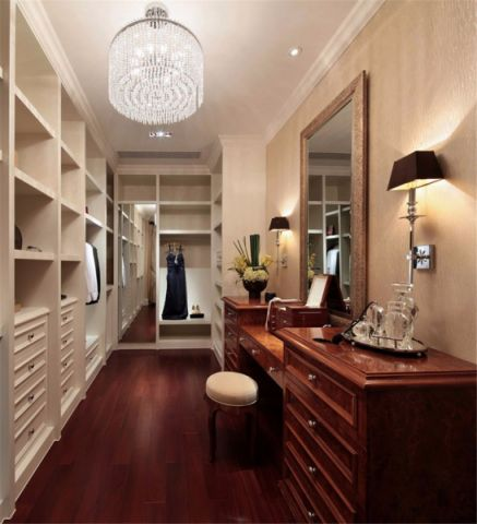 书房橱柜简欧风格装修图片