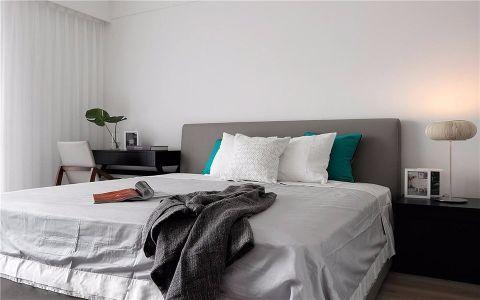 卧室细节简中风格效果图