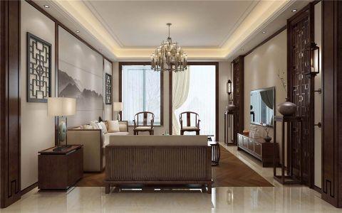 客厅细节新中式风格装修效果图