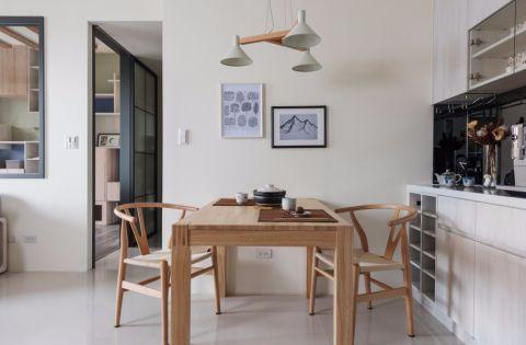 餐厅照片墙现代简约风格装潢效果图