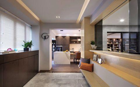 客厅门厅简约风格装修效果图