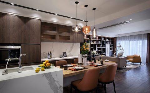 金珠港湾160平简约风格四居室装修效果图