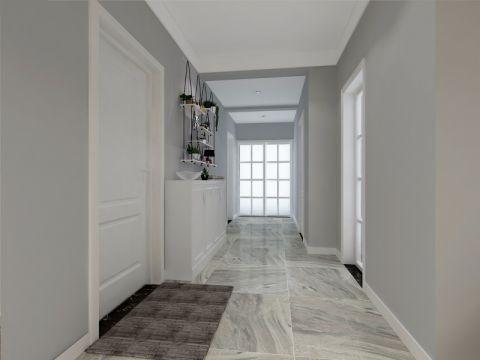 玄关走廊北欧风格装饰图片