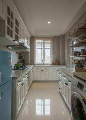 厨房吊顶美式风格装潢设计图片