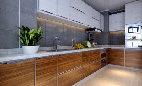 厨房橱柜新中式风格装饰设计图片