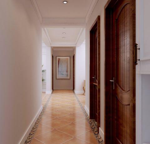 玄关走廊美式风格装饰效果图