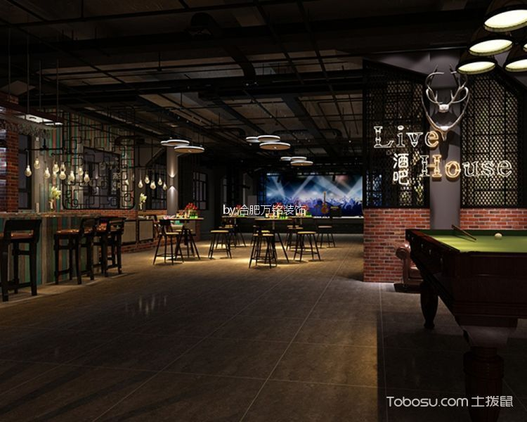 万达广场工业风酒吧