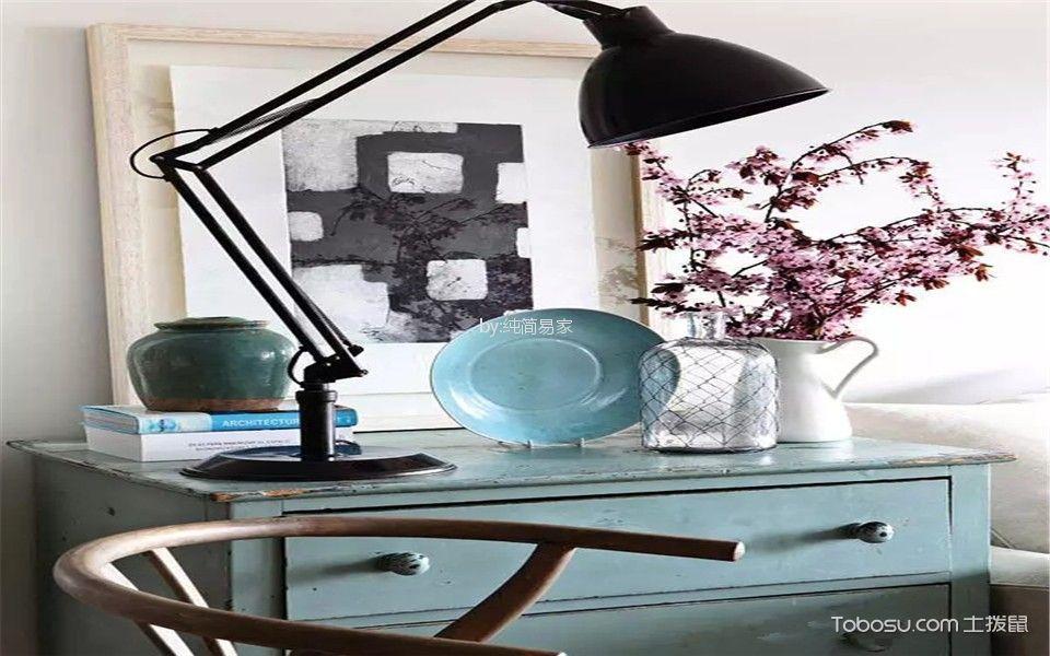 客厅白色细节混搭风格装修图片