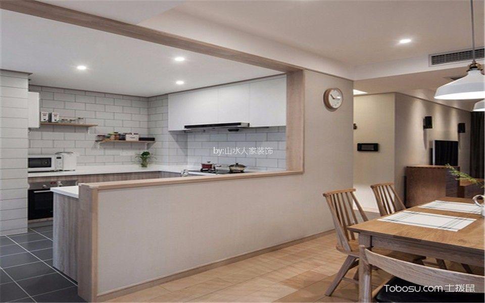 厨房米色细节混搭风格效果图