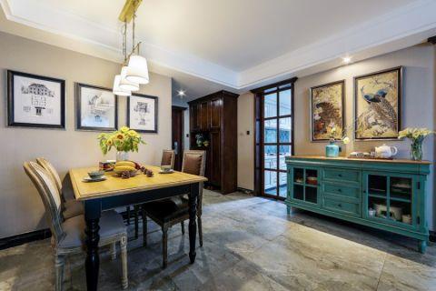 北景园106方新古典三居室装修效果图