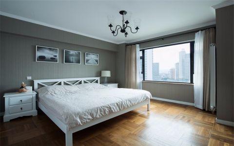 卧室窗帘现代风格装饰图片