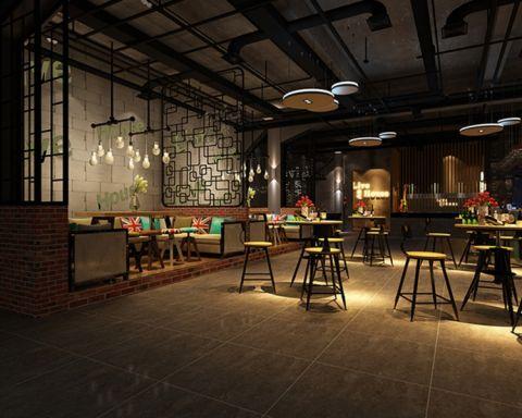 万达广场386平米经典风格酒吧装修效果图