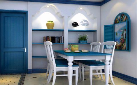 餐厅细节地中海风格装修效果图