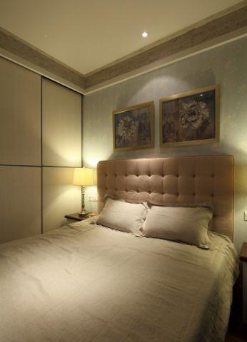 卧室隐形门混搭风格装饰效果图