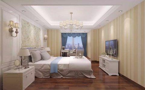 卧室简欧风格装饰效果图