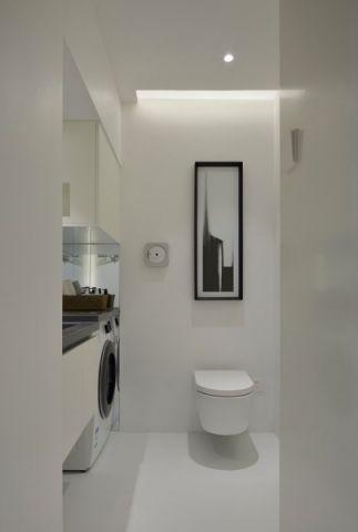 卫生间地砖现代风格装潢设计图片