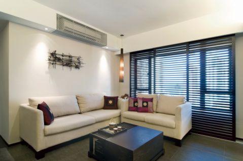 客厅沙发简约风格装潢设计图片