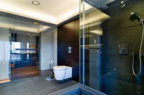 浴室地砖简约风格装修效果图