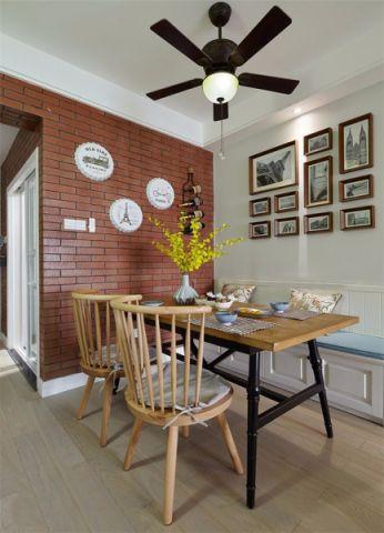 餐厅照片墙混搭风格装饰效果图
