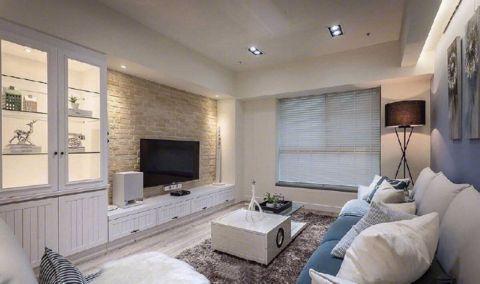 客厅橱柜简约风格装修设计图片