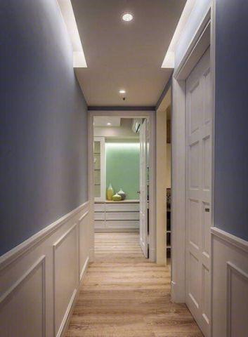 玄关走廊简约风格装潢设计图片